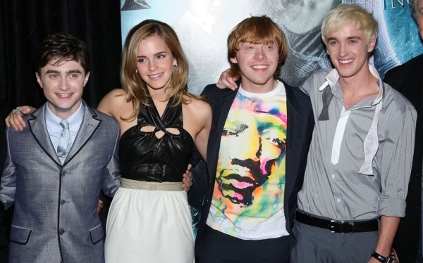 Harry Potter and the Half-Blood Prince's cast have much to smile about