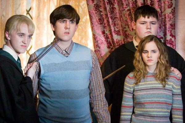 Harry Potter Actor Jamie Waylett on Set