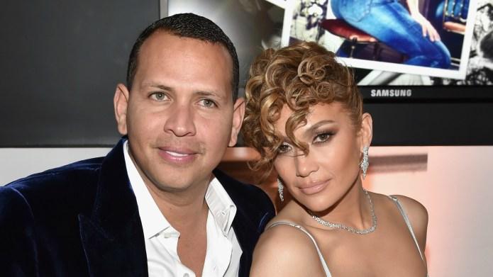 Jennifer Lopez Talks Alex Rodriguez on