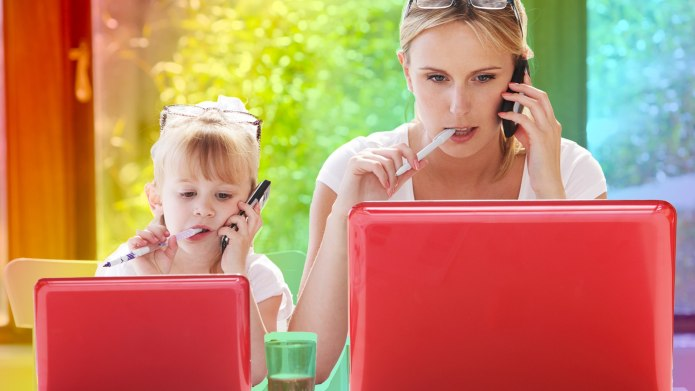 The Way Breadwinning Parents Split Housework