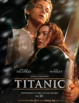 Titanic returns to theaters in 3-D