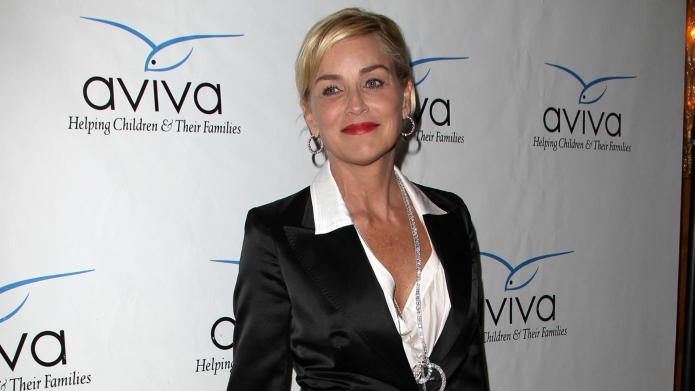 Sharon Stone is in the market