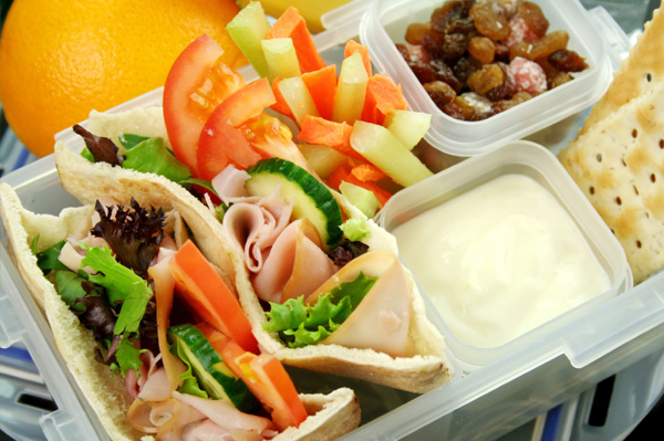 Healthy bento lunchbox