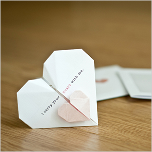 Heart origami | Sheknows.ca
