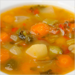 Hearty Vegetable Soup at Tim Hortons