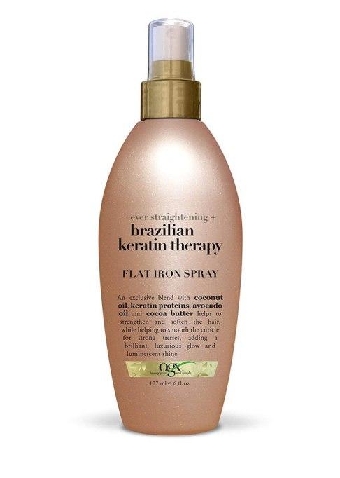 OGX Ever Straightening + Brazilian Keratin Therapy Flat Iron Spray