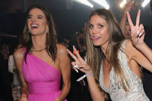 Klum and Alessandra Ambrosio