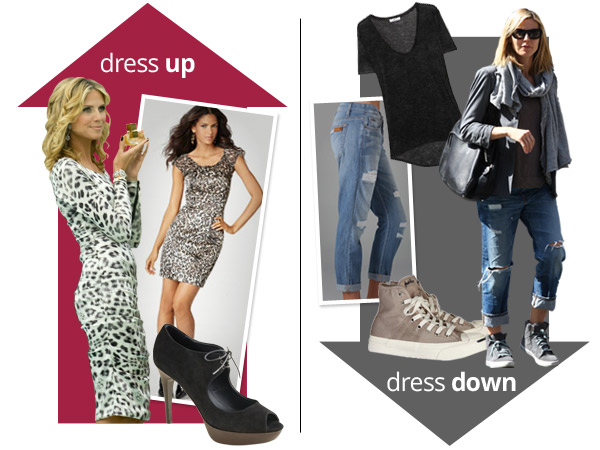 Heidi Klum's celebrity style: Glam gal and mommy style