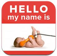 50,000 Baby Names app