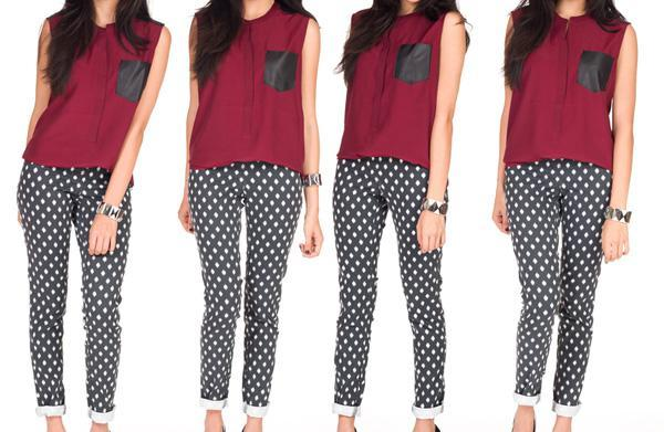How to pull off printed pants