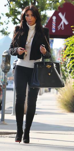 Steal the look: Kim Kardashian