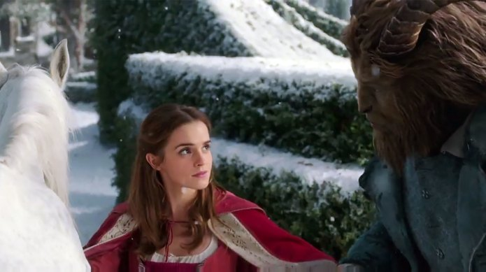 Finally, Beauty and the Beast trailer