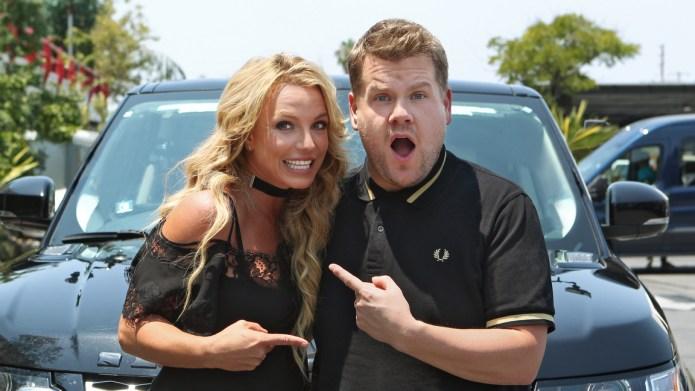 Britney Spears joins James Corden for