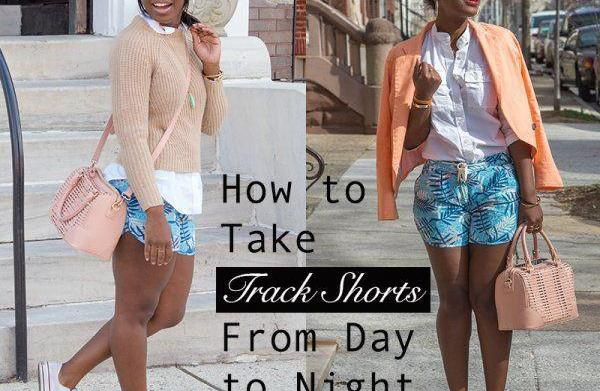 How to take track shorts from