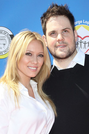 Hilary Duff and Mike Comrie are now parents