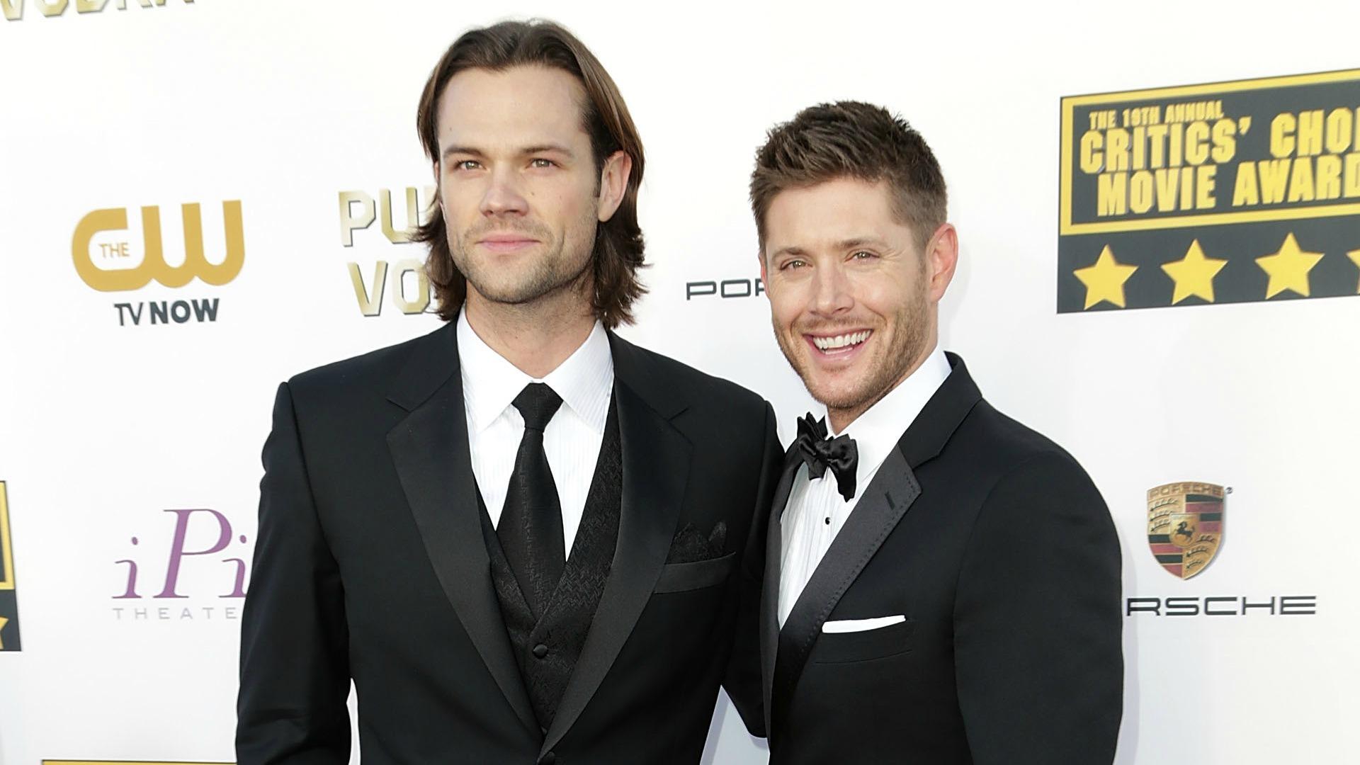 Jared Paladecki and Jensen Ackles