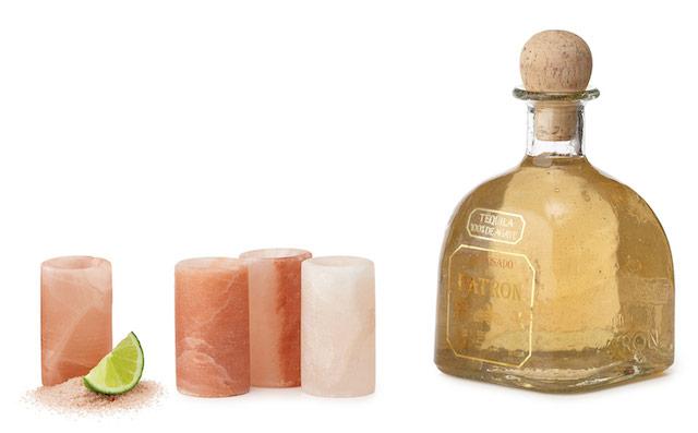 himalayan salt tequila shot glasses