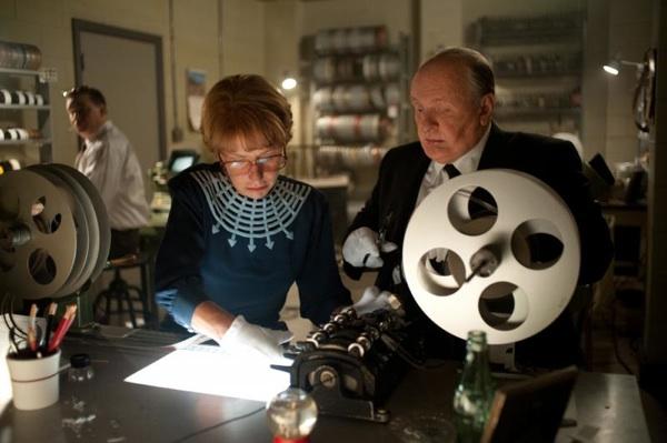 Helen Mirren and Anthony Hopkins in Hitchcock