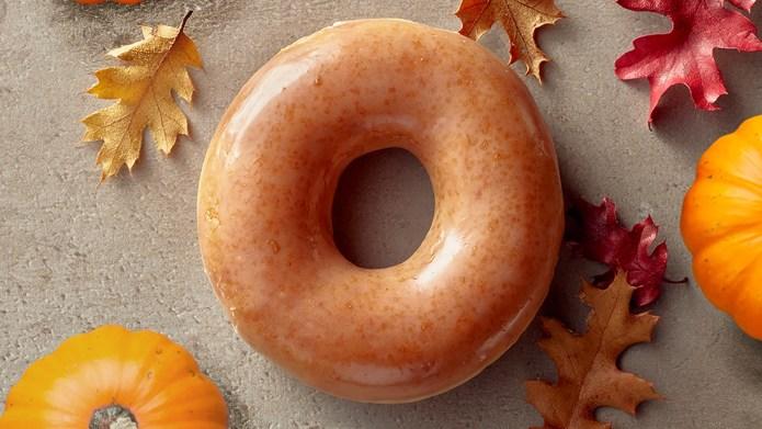 Krispy Kreme Is Releasing a Pumpkin