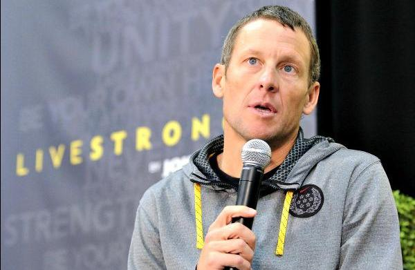 Lance Armstrong effigy to light up