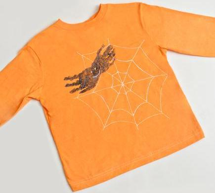 Easy DIY Halloween shirt