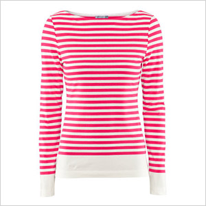 h&m stripe long sleeve shirt