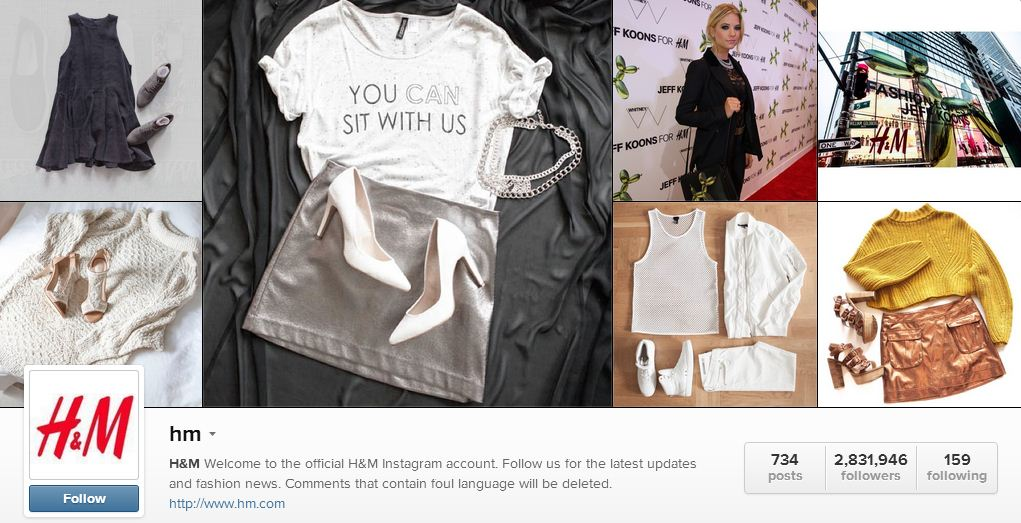 H&M's Instagram | Sheknows.ca