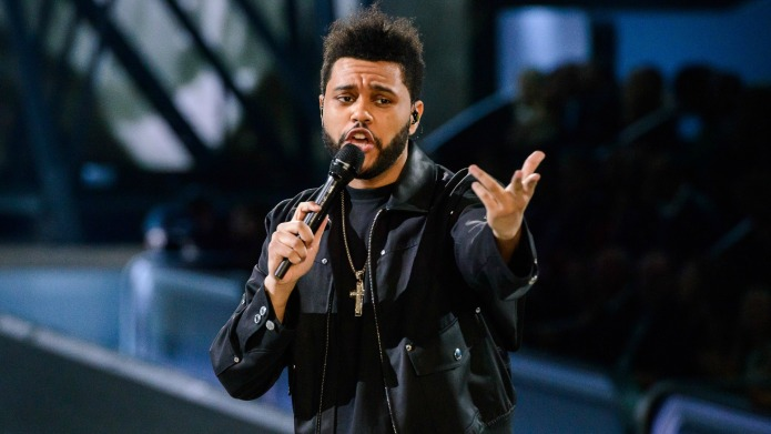The Weeknd is hugely successful now