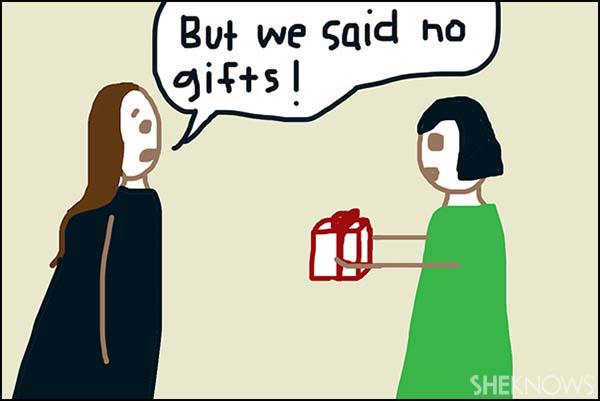 Holiday gifts - No gifts