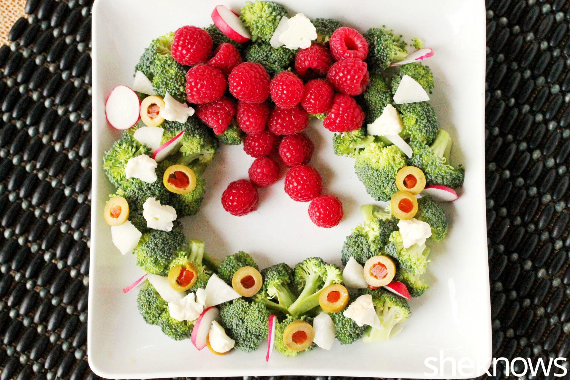 Veggie wreath 1