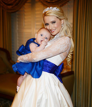Holly Madison and Rainbow