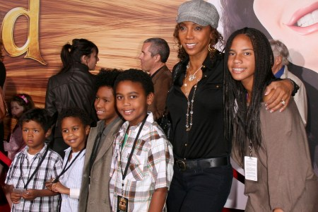 Holly Robinson Peete and her family