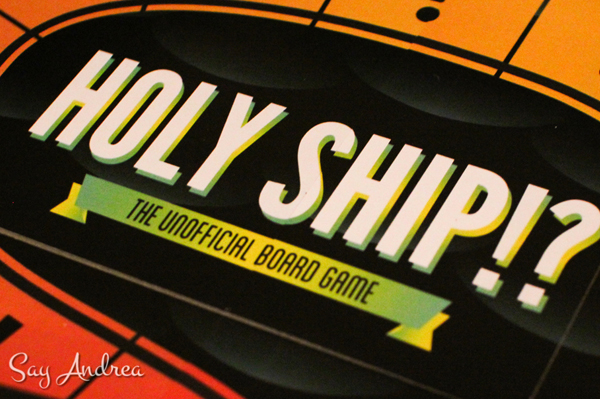 Holy ship!? unofficial board game | Sheknows.com
