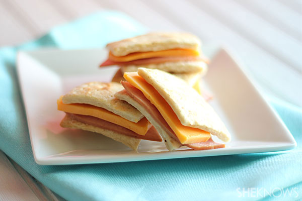 homemade cracker sandwiches