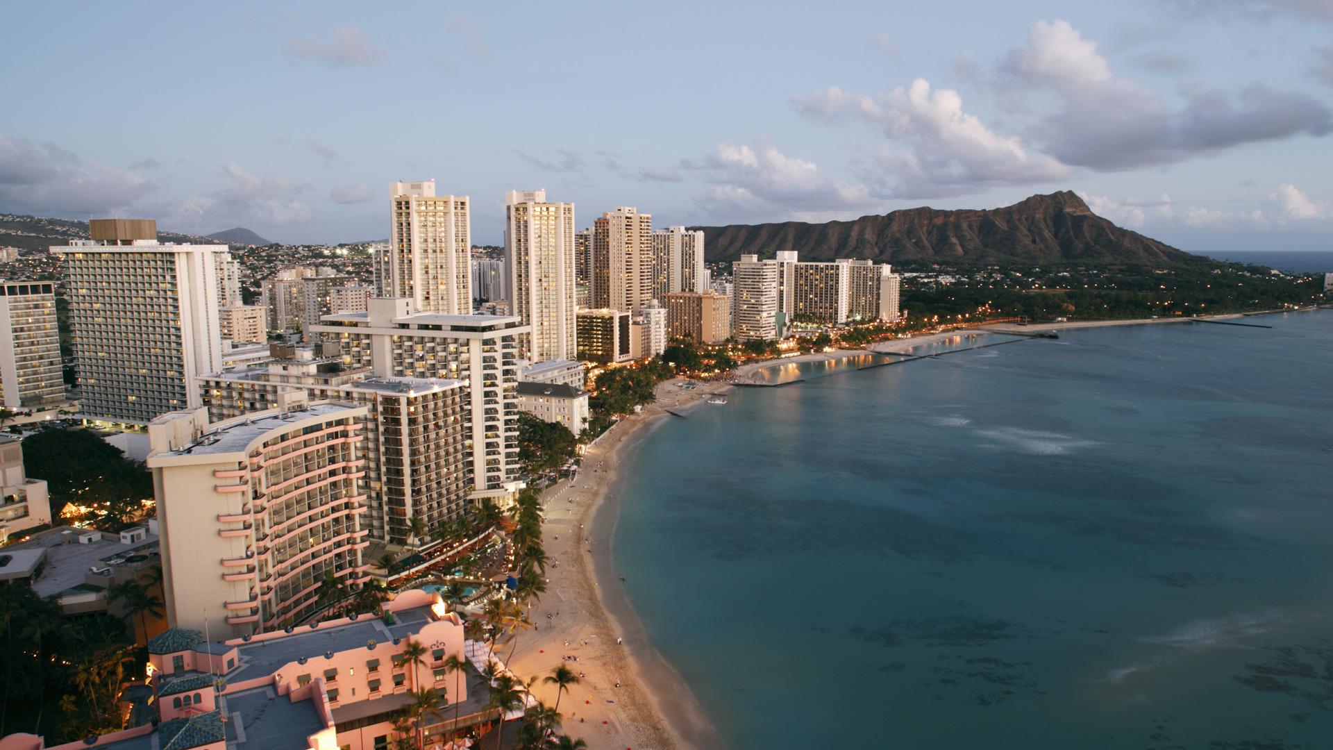Honolulu, Hawaii skyline