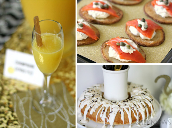 New Year's Eve party | Menu