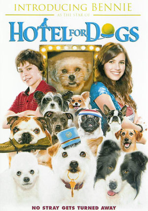 """Introducing """"your dog here,"""" star of Hotel for Dogs"""
