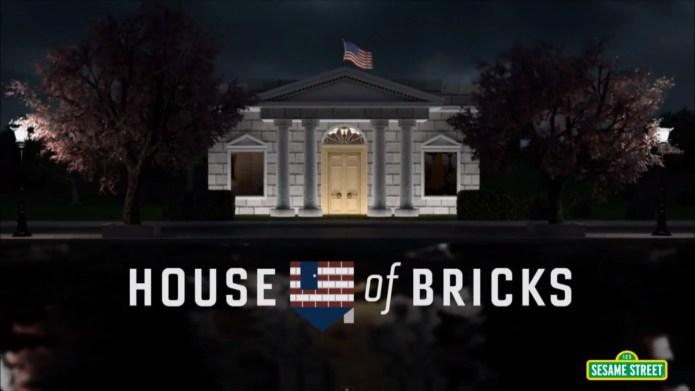 Sesame Street's House of Cards parody