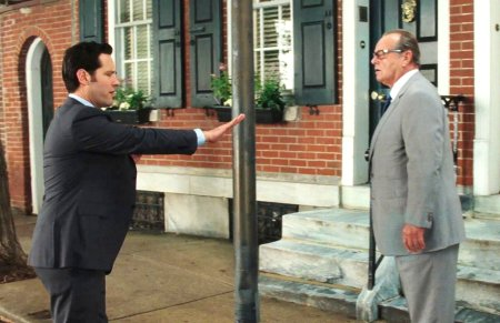 Paul Rudd and Jack Nicholson in How Do You Know
