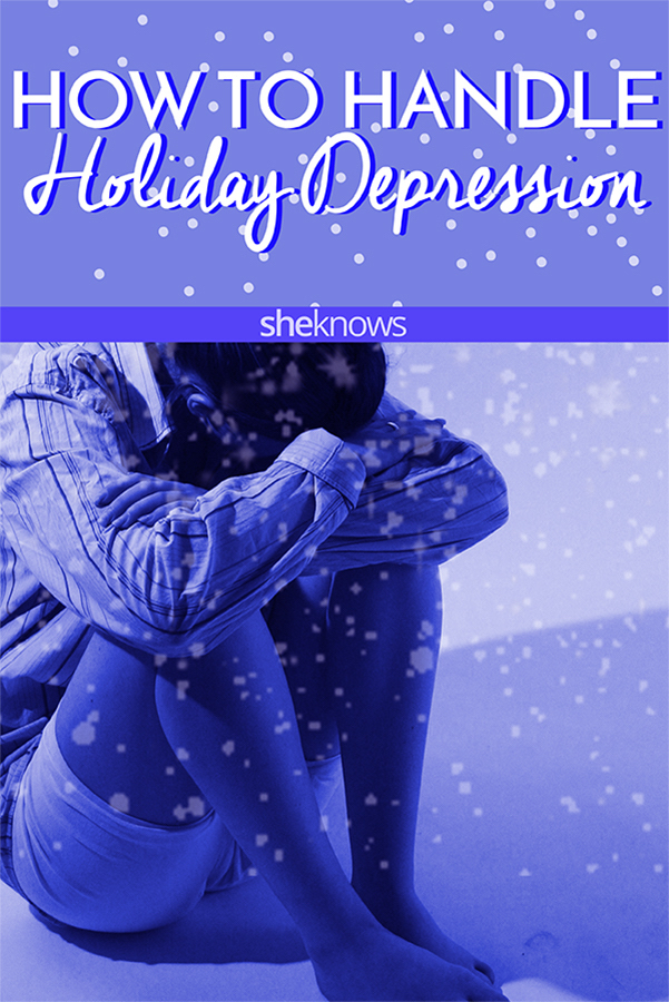 How to handle holiday depression