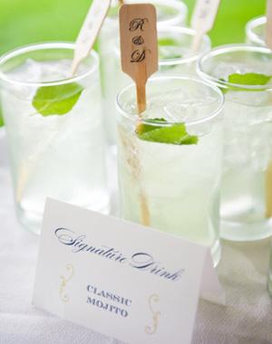 Serve a signature cocktail
