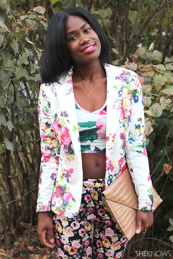 How to mix floral prints