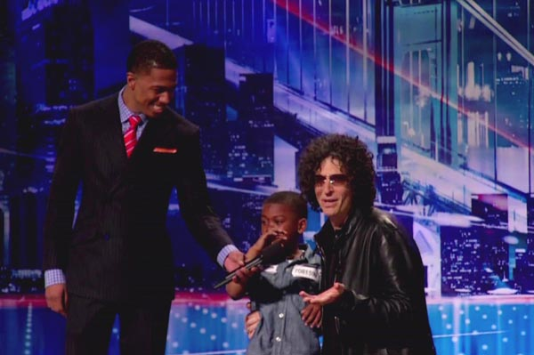 Howard Stern breaks down on America's Got Talent