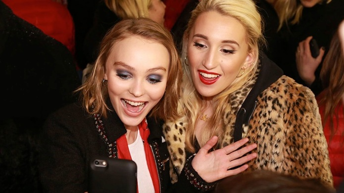 Lily-Rose Depp and Harley Quinn Smith