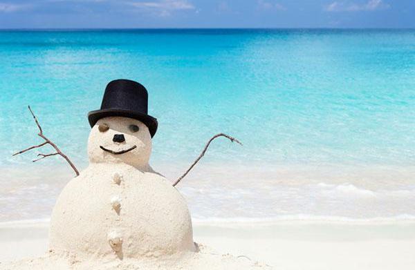 Host a Frozen-inspired beach party