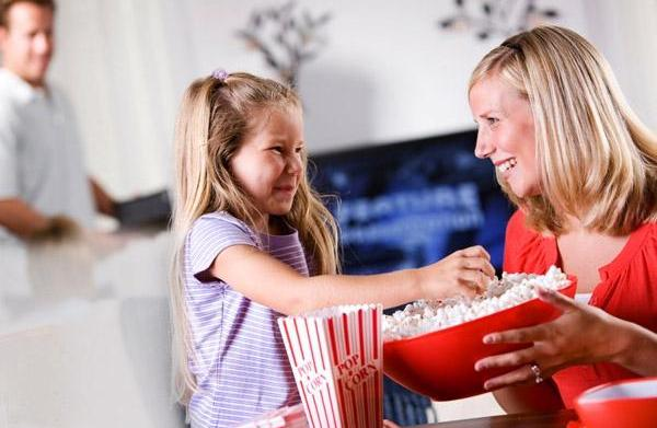 Family movie night: Recreate the larger-than-life