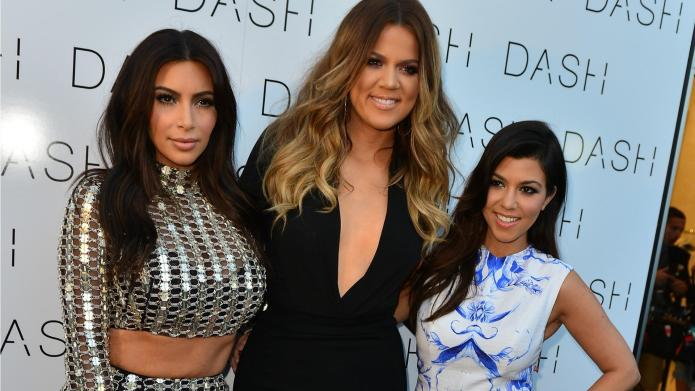 Another Kardashian poses nude — this