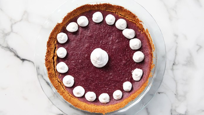Make this purple sweet potato pie