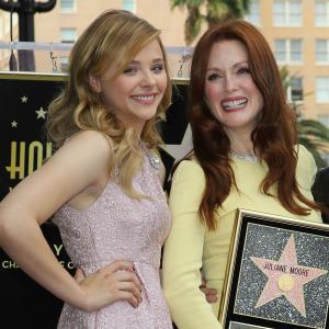 Julianne Moore honored on Hollywood Walk