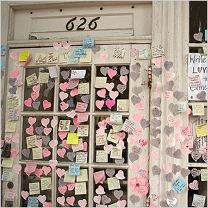 Love heart post-it notes | Sheknows.ca